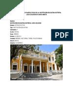 Dianostico Intitucion Educativa Celedon