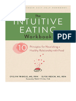 [2017] The Intuitive Eating Workbook by Evelyn Tribole | Ten Principles for Nourishing a Healthy Relationship with Food (A New Harbinger Self-Help Workbook) | New Harbinger Publications