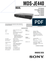 Sony MDS-JE440 Service Manual (1)
