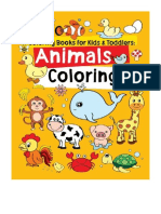 [2017] Coloring Books for Kids & Toddlers by Jane J. R.   Animals Coloring   CreateSpace Independent Publishing Platform