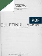 Buletinul Alpin - Martie 1938