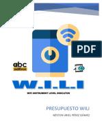 Presupuesto Wili
