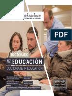 Plegable Doctorado en Educacion