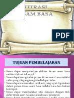Ppt Titrasi Asam Basa