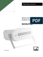 Como usar el Scout 55