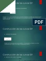 Construcción de las curvas IDF.pptx
