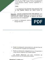 Fiscalía de la Nación reabrió investigación contra Jorge del Castillo