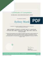 smank ihi certificate final