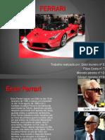 Trabalho Ferrari CV