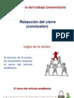 Redaccion de las conclusiones...pptx