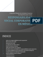 Responsabilidad social corporativa en México - PFAP
