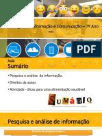 TIC7_Aula - Pesquisa - Direitos autor - Atividade Alimentação.pdf