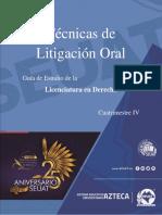 Tecnicas de Litigio Oral