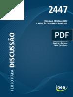 td_2447 EDUCAÇÃO, DESIGUALDADE e reducao probreza brasil.pdf