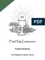 First Holy Communion Handbook FINAL 2019