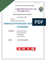 Produccion de Lenguado