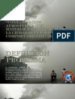 casos de contaminación del aire