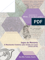 2012 - Jogos Da Memória Movimento Feminino Pela Anistia No Ceará (1976-1979)
