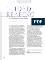 guided reading f and p article  2012