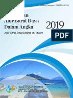 Kecamatan Alor Barat Daya Dalam Angka 2019