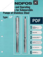 Grundfos Submersible Pump Installation and Operating Instructions
