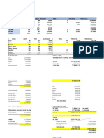 Planilla Inventario Ganado Vacuno Produccion y Costo de Venta