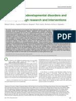 Boivin, M. J., Kakooza, A. M., Warf, B. C., Davidson, L. L., & Grigorenko, E. L. (2015). Reducing neurodevelopmental disorders and disability through research and interventions. Nature, 527(7578), S155..docx