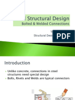Steel Structural Design Bolted & Welded Connections revised