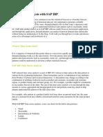 Time Series Analysis with SAP IBP