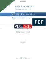 PDSql Library User Guide V1.3.2