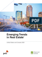ULI Emerging Trends in Real Estate 2020