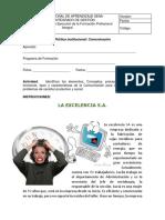 Instrumento de Evaluacion - Estudios de Casos La Excelencia SA