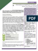 Aide Memoire EVD Clinicians 21 XI