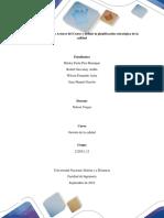 Fase 2 - Identificar los Actores del Curso y definir la planificación estratégica de la calidad