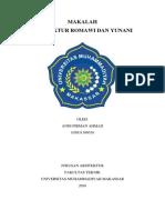 MAKALAH ARSITEKTUR ROMAWI DAN YUNANI.docx