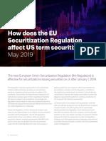 EU Securitization Article
