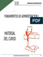 Fundamentos de Administración 1