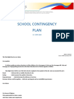 Contingency Plan Documents