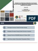 Bahan Sosialisasi Permen ATR Nomor 22 Tahun 2019 (Percepatan Perizinan)