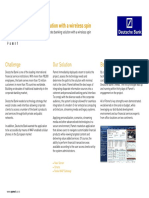 banking solution case study