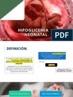 Hipoglicemia Neonatal Expo