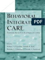 William T. O'Donohue, Michelle R. Byrd, Nicholas A. Cummings, Deborah A. Henderson - Behavioral Integrative Care_ Treatments That Work in the Primary Care Setting (2004).pdf