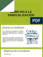 Derecho a la sindicalización.pptx