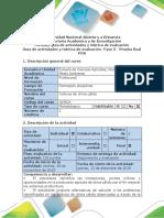 Guía de actividades y rúbrica de evaluación - Fase 5 - Prueba final (POA).docx