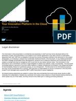 SAP Cloud Platform-Overview, Extn, Customer Use Case - Final (1)