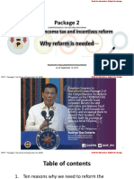 Amcham Meeting Presentation on Top 10 Reasons Why We Need a Reform Package 2 of CTRP or CITIRA Bill September 19 2019