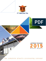 Annual Report 2015 PT Berlina Tbk