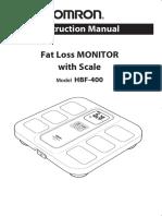Omron Scale HBF 400