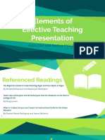 educ 310-01 elements of effective teaching presentation