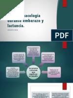 Psicofarmacología durante embarazo y lactancia.